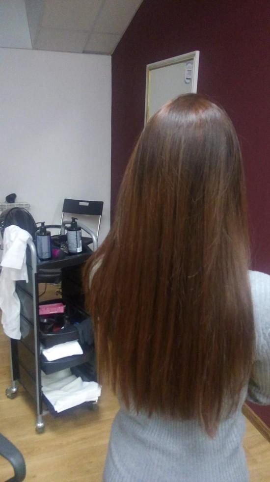 Волос раздваивается на конце