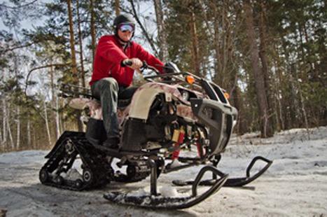 Снегоходы на гусеничном ходу своими руками 97